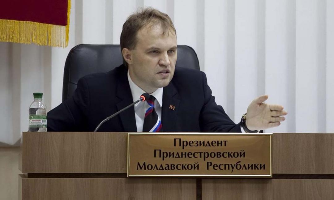 Президент ПМР Евгений Шевчук