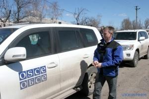 Місія ОБСЄ зафіксувала минулої доби 225 порушень перемир'я