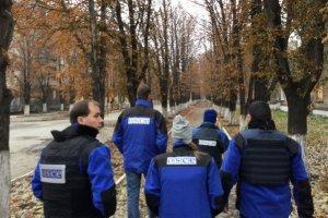 ОБСЕ обнаружила две отведенные РСЗО близ оккупированного Миусинска