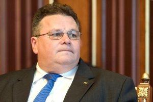 Линкявичюс - об урегулировании на Донбассе: Сначала безопасность, потом политика