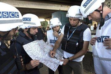 L'OSCE a vu trois colonnes de chars sur le territoire occupé de la région de Louhansk