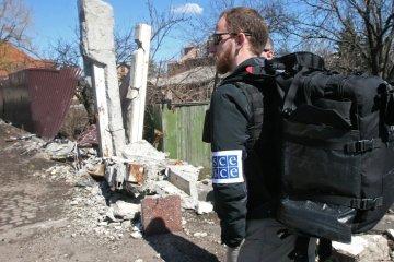 OSCE spots modern Russian armoured vehicles 'Esaul' in occupied Donetsk region