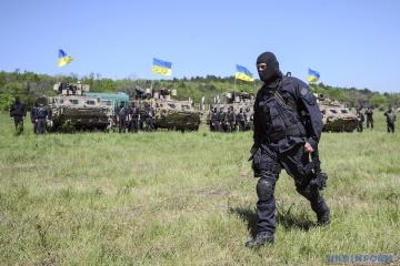 Drei Soldaten der Vereinigten Kräfte in der Ostukraine verletzt