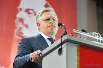 中央選管、シモネンコ共産党党首の大統領選挙への出馬申請を受理せず