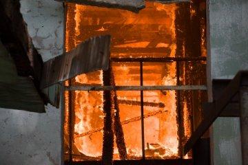 In Oblast Saporischschja im Brand drei Kinder gestorben