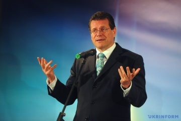 Sefcovic nennt Datum nächster Runde trilateraler Gas-Verhandlungen