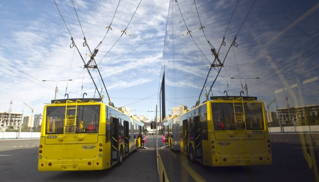 Маршрути громадського транспорту центром Києва змінюються на кілька днів