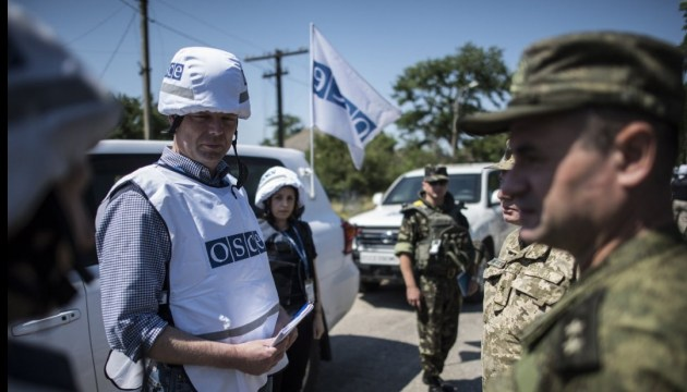 OSCE records over 30 explosions in east Ukraine