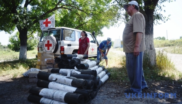 Ministry for Temporarily Occupied Territories estimates humanitarian aid provided to Donbas by foreign partners