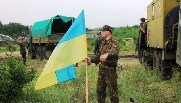 Les terroristes russes déploientdes armes lourdes tout le long de la ligne de démarcation