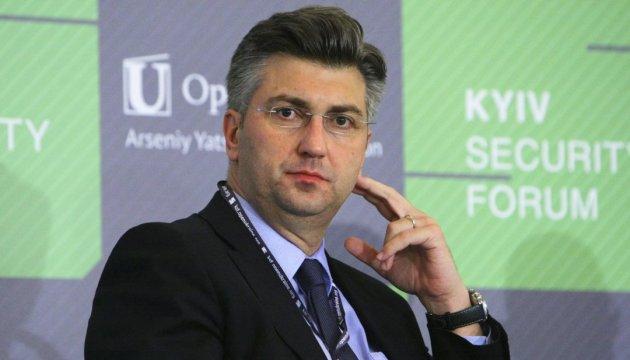 Хорватія підтримує Україну і виступає за подальші санкції проти РФ