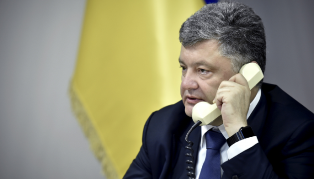 Poroshenko, Biden discuss Russian provocations in Crimea