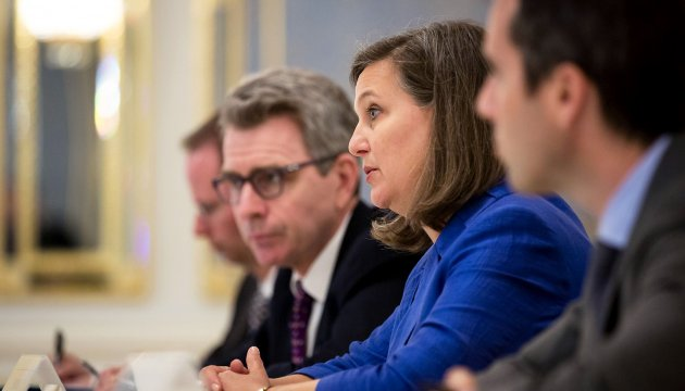 Nuland: Peace in Donbas needed for progress in political part of Minsk agreements