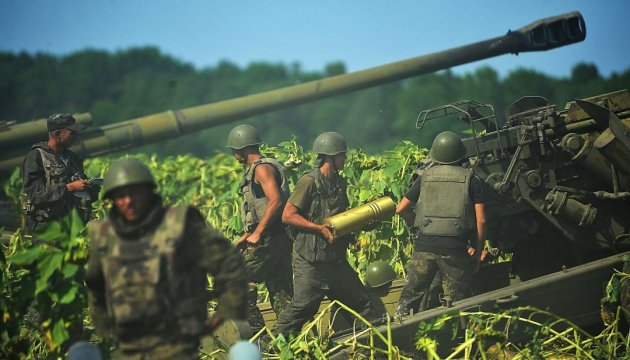 Militants launched 71 attacks on Ukrainian troops in Donbas in last day
