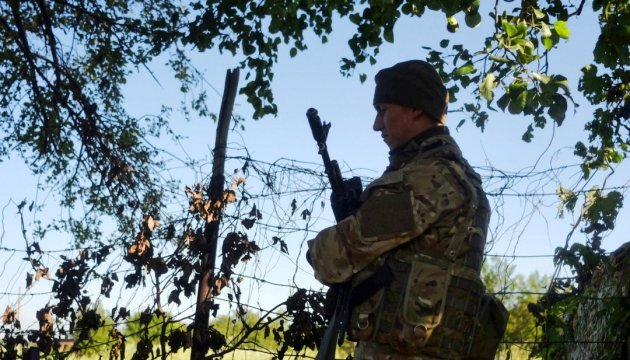 Militants launched 20 attacks on Ukrainian troops in Donbas in last day