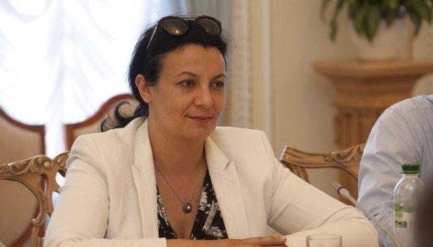 Iwanna Klympusch-Zynzadse: Handel zwischen der Ukraine und Lettland unzureichend