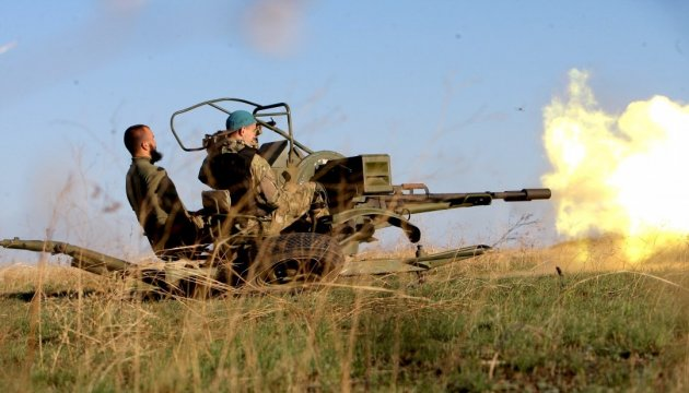 Militants continue to violate ceasefire in Donbas