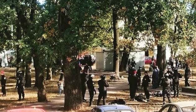 Рекет зі стріляниною в Києві: міліція затримала 20 осіб