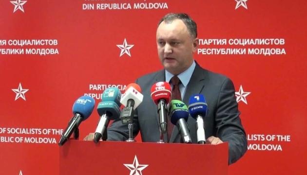 Додон відреагував на пропозицію українських депутатів оголосити його персоною нон-грата