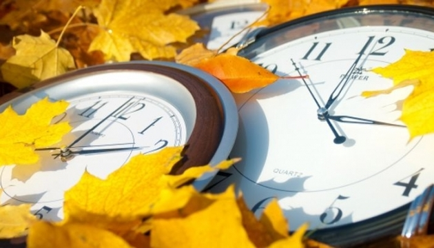 Ukraine turns clocks back for daylight saving time
