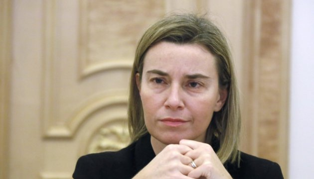 Mogherini: EU to keep sanctions against Russian until full implementation of Minsk agreements