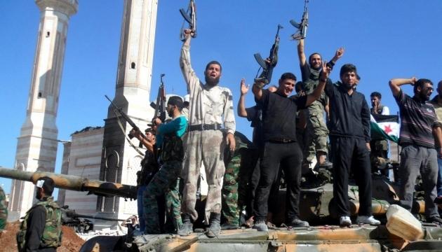 Сирийские повстанцы взяли в осаду