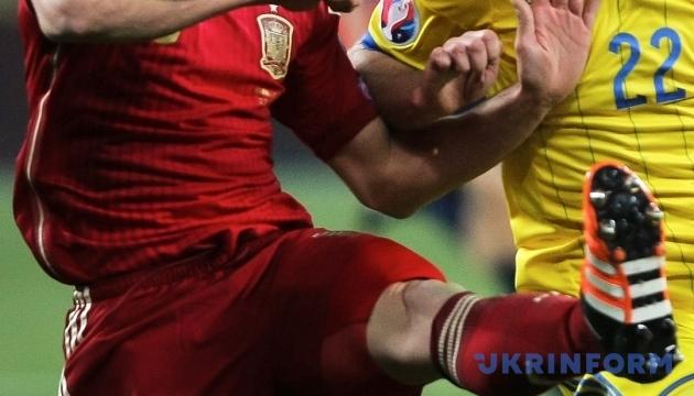 Збірні Іспанії та України сьогодні зіграють у Мадриді матч Ліги націй УЄФА