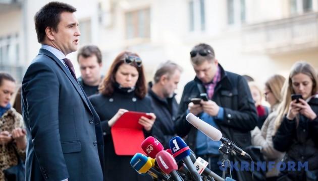 Все главы МИД стран Евросоюза поддержали продление санкций против России – Климкин