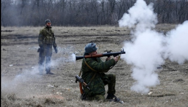 Militants fire mortar shells on Popasna town