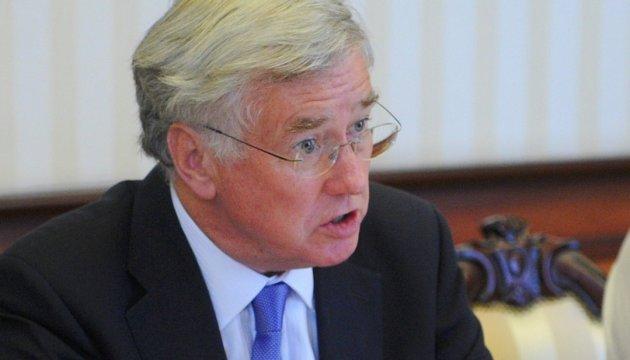 UK Defense Secretary: We're still on Ukraine's side