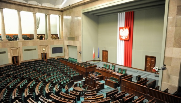 Сейм Польши антикризисным законом внес поправки в избирательный кодекс