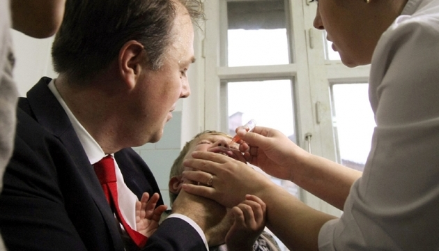 В ВОЗ заявили об окончании эпидемии полиомиелита в Украине