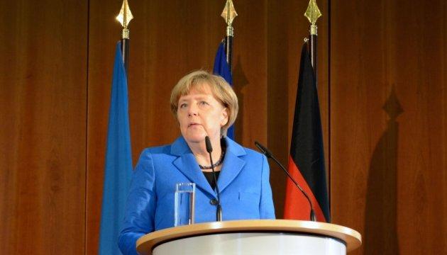 Меркель: Головне для нас - виконання Мінських угод