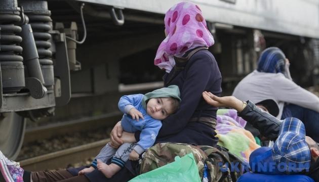 У Празі центр для біженців закидали «коктейлями Молотова»
