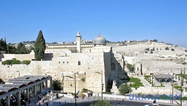 В Иерусалиме появились дорожные знаки