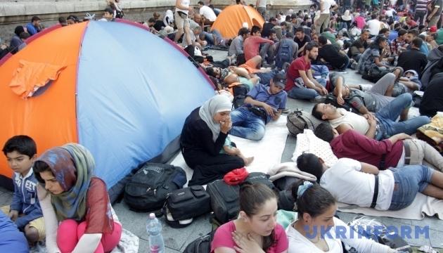 У Німеччині горів табір мігрантів, є постраждалі