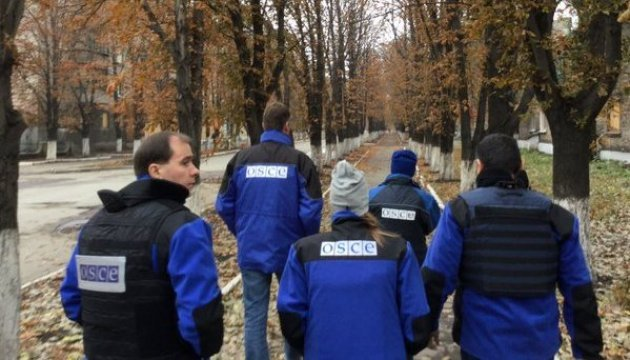 OSCE records escalation of conflict in Donbas