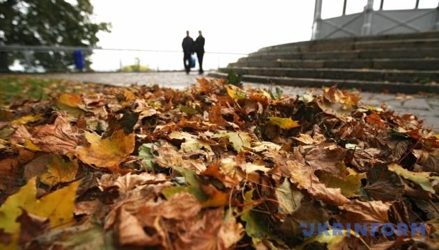 Погода в Киеве побила несколько осенних рекордов