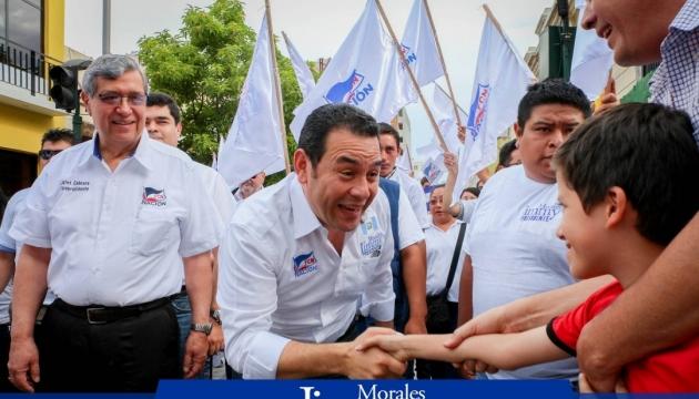 Новим президентом Гватемали став комік