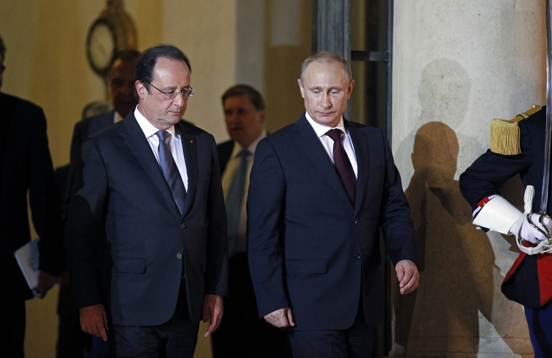 Олланд і Путін фото: 112 канал
