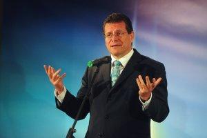 Шефчович у Києві обговорить транзит російського газу