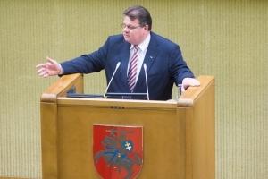 """Лінкявічус назвав Лукашенка """"колишнім президентом Білорусі"""""""