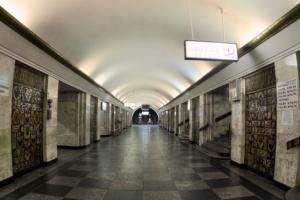 В Киеве «минировали» метро Крещатик