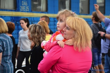 Más de 1,4 millones de desplazados internos registrados en Ucrania