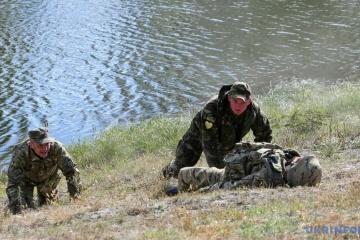 Durante el día cuatro soldados ucranianos resultaron heridos y traumatizados