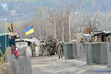 Donbass: les Russes ont déployé des armes lourdes, aucune perte au sein des Forces unies