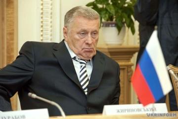 ウクライナ検事総局、ジリノフスキー等露政治家のテロ支援容疑を裁判所に提出