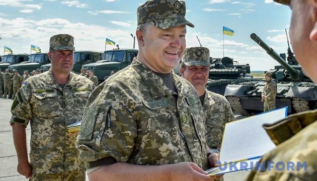 Президент дозволив іноземцям служити в українській армії