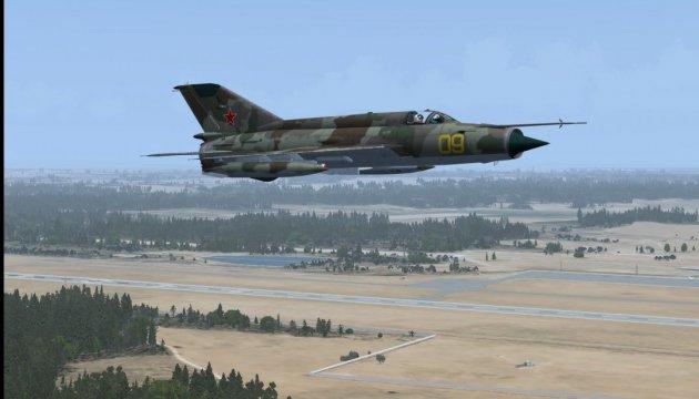 В Сирии упал российский МиГ-21