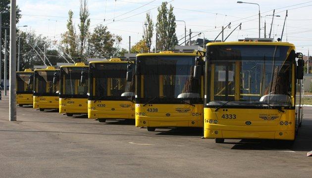 У столиці тимчасово змінюється робота тролейбусів №24
